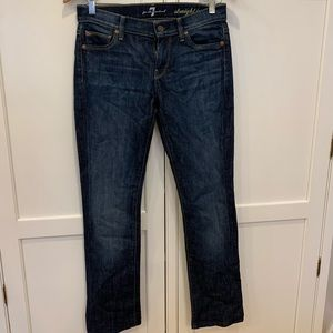 Straight jeans from 7 For All Mankind